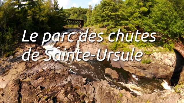 Parc des chutes de Sainte-Ursule, Qc, Canada