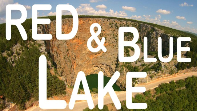 Red and Blue Lake, Imotski, Croatia