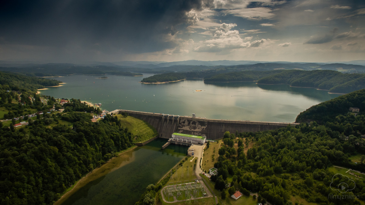 Solina Dam, Bieszczady Mountains, Poland