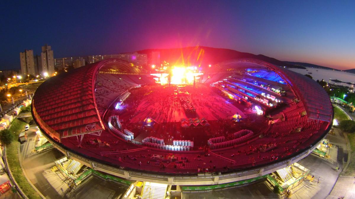 Stadium Poljud (Ultra Music Festival 2015), Split, Croatia
