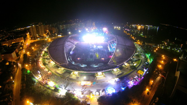 Stadium Poljud (Ultra Music Festival 2015), Split, Croatia