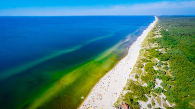 Nida beach, Curonian Spit, Lithuania