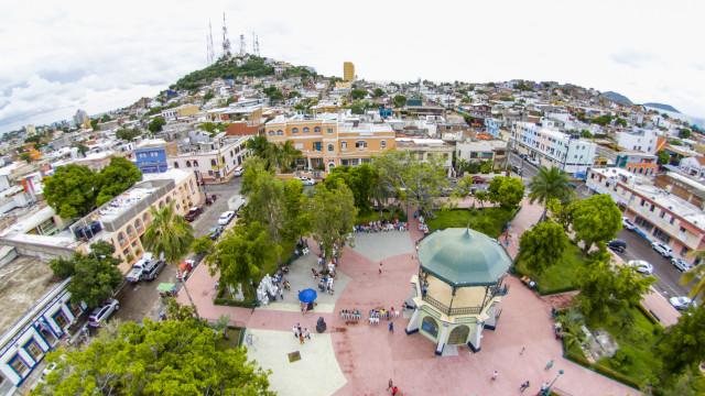 Plazuela Zaragoza, Mazatlan, Sinaloa, Mexico