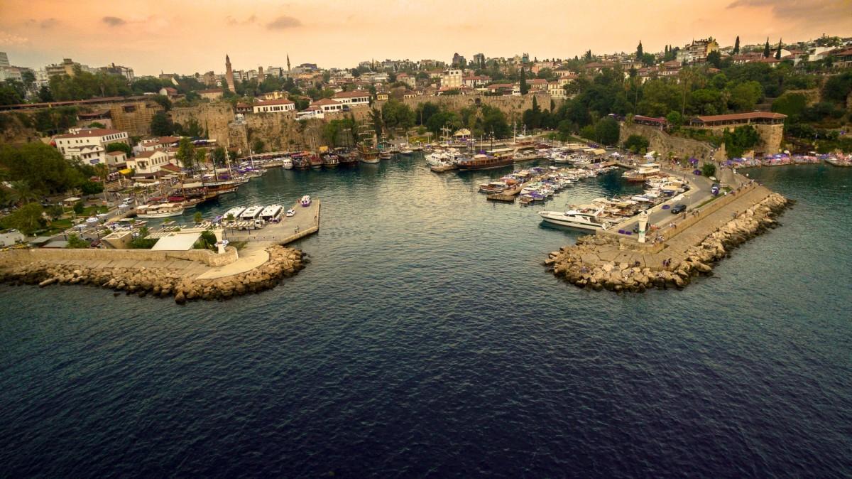 Kaleiçi, Antalya, Turkey  Dronestagram