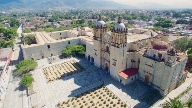 Templo de Santo Domingo de Guzmán en Oaxaca, Mexico