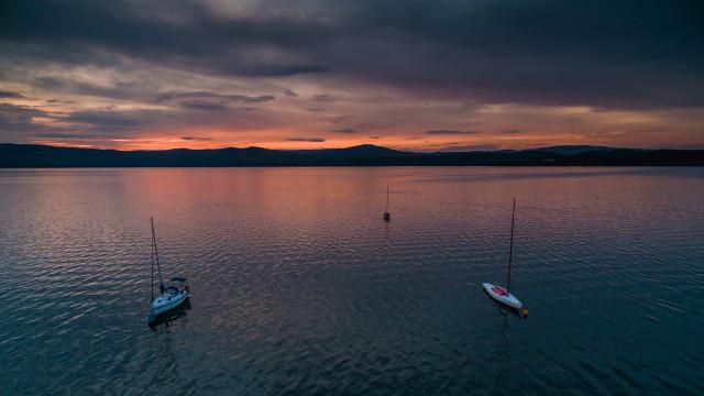 Turgoyak lake, Miass, Russia