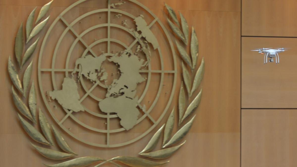 Phantom 3 Palais des Nations Unies, Genève – Suisse