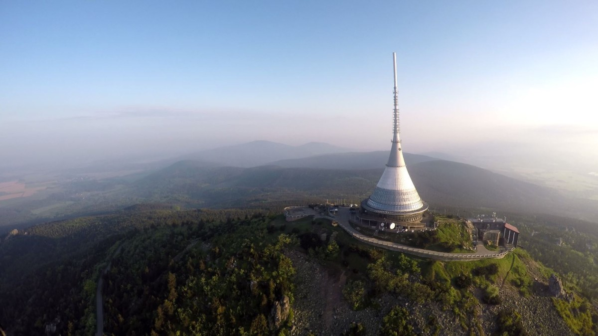 Jested TV Tower, Liberec, Czech Republic
