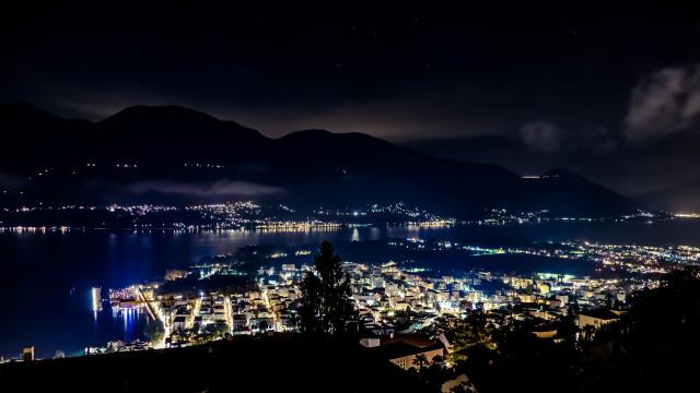 Locarno in der Nacht