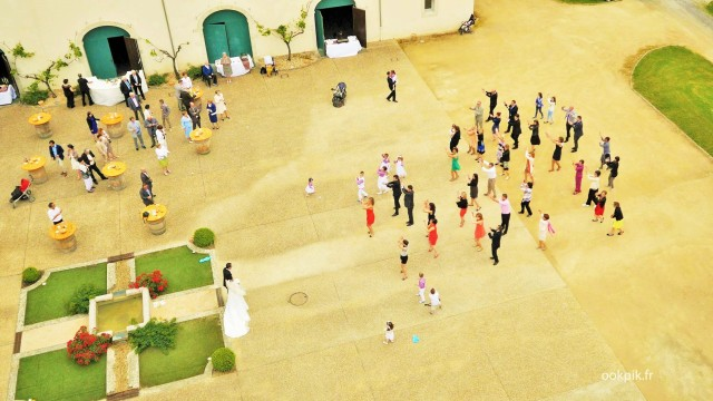 Flash mob, mariage, photo par drone, Biarritz, Pyrenees-Atlantiques, France