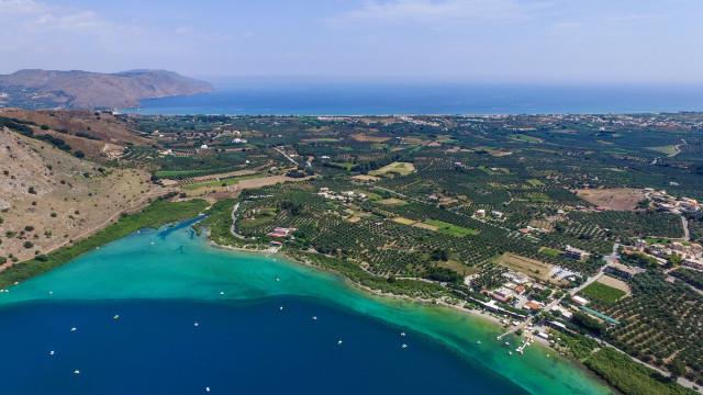 Kournas Lake, Chania, Greece
