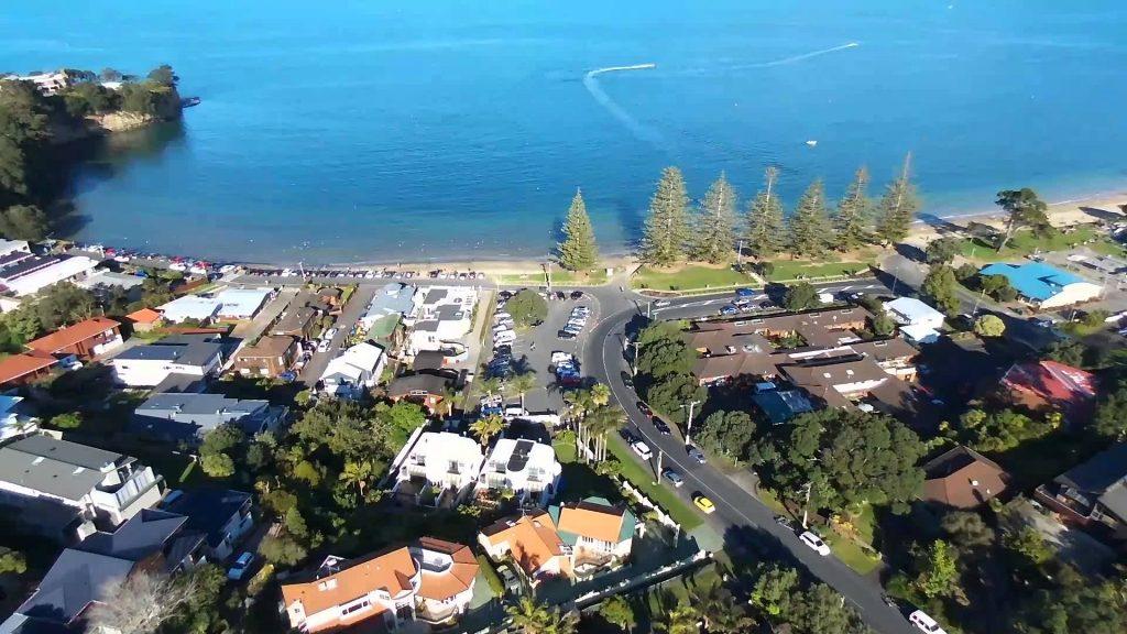 Browns Bay Auckland New Zealand Dronestagram