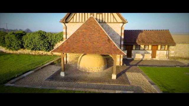 La commanderie templière de Saint-Etienne de Renneville, Eure, France