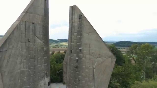 Frieadland Peace Monument, Germany – Flyaway Drone