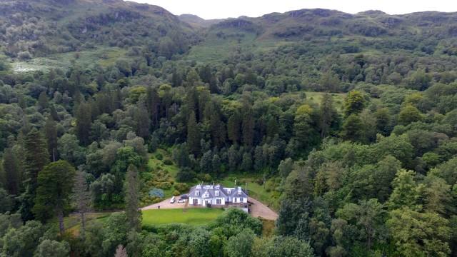 Stuxkgowan House, Loch Lomond, Scotland