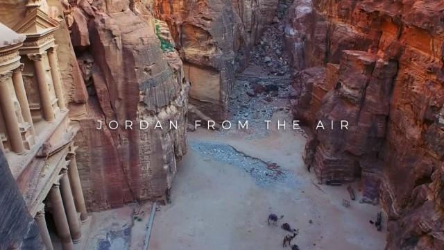 Jordan from the Air