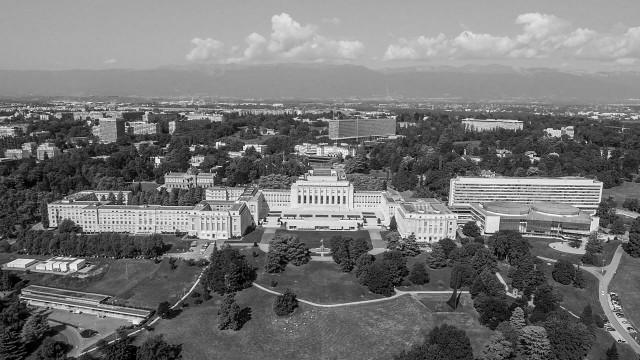 Palais des Nations Unies, Genève, Suisse