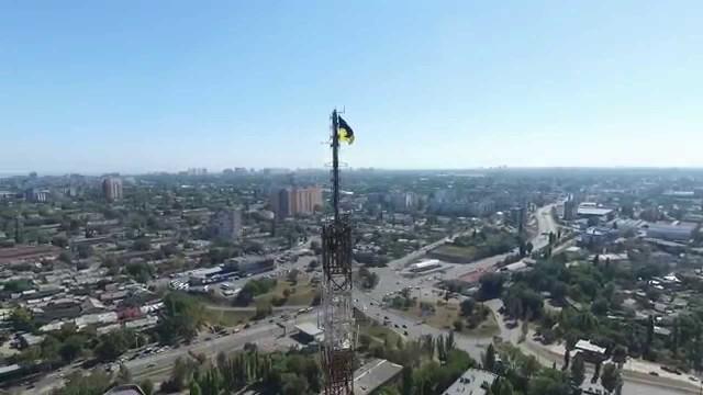 Radio tower, Odessa, Ukraine