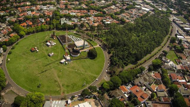 Praça Pio XII, Maringá, Paraná, Brazil