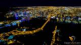 Miami at night, Florida