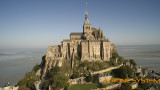 Le Mont Saint Michel, dans la Manche (50) en région Basse Normandie, France.
