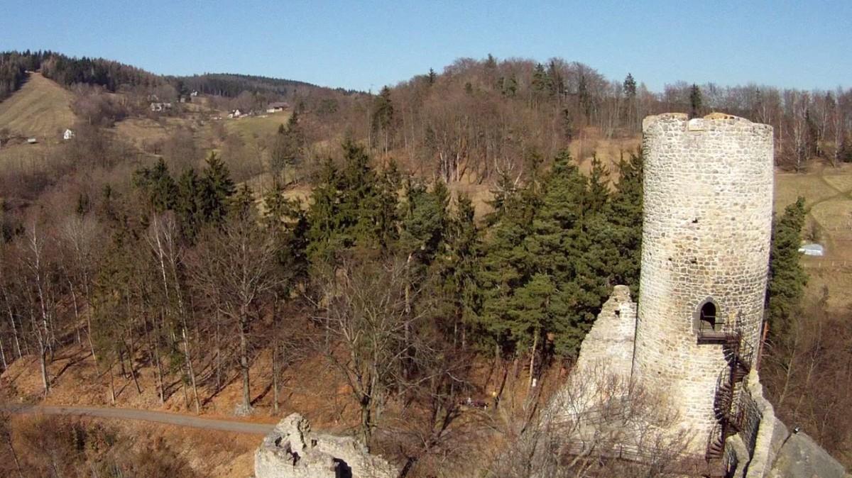 Frydstejn castle, Frydstejn, Liberec region, Czech Republic