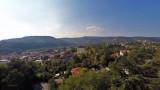 Prise de vue aerienne par drone, photo Lyon par drone, Rhone Alpes, France