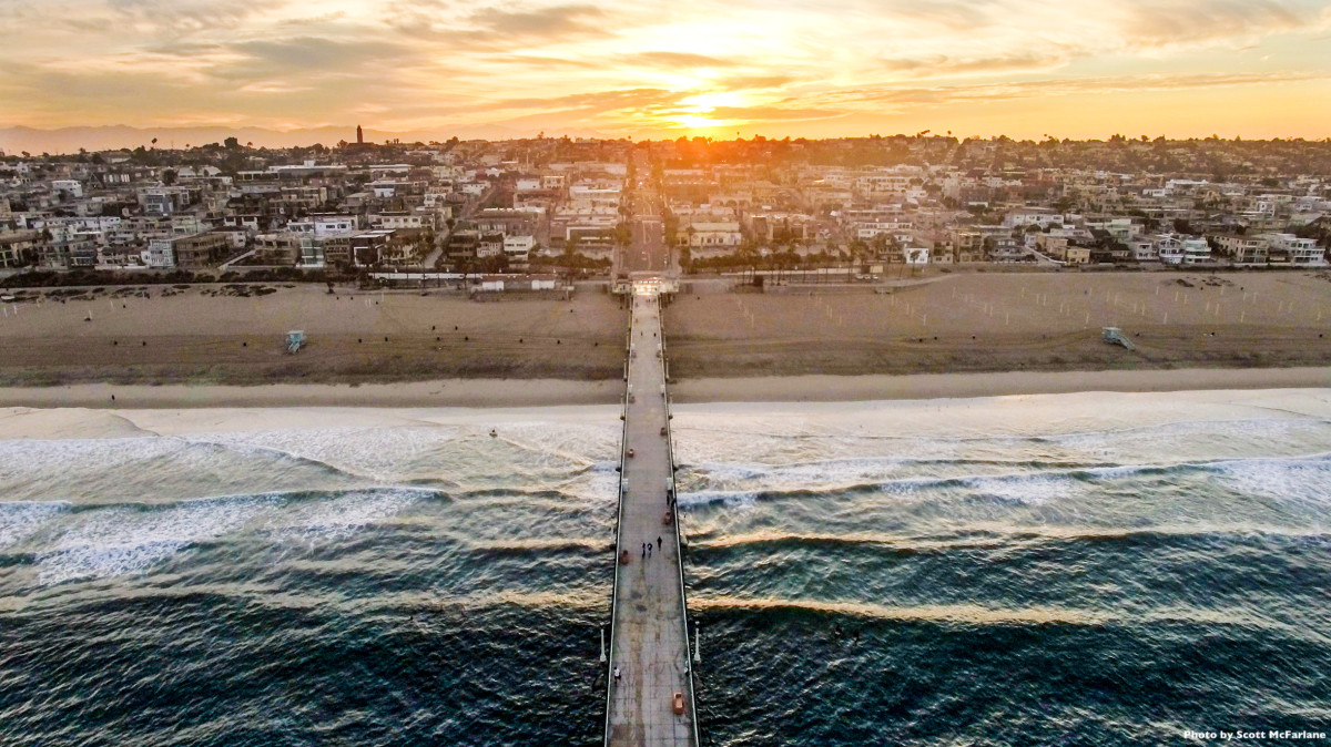 manhattan beach ca dronestagram