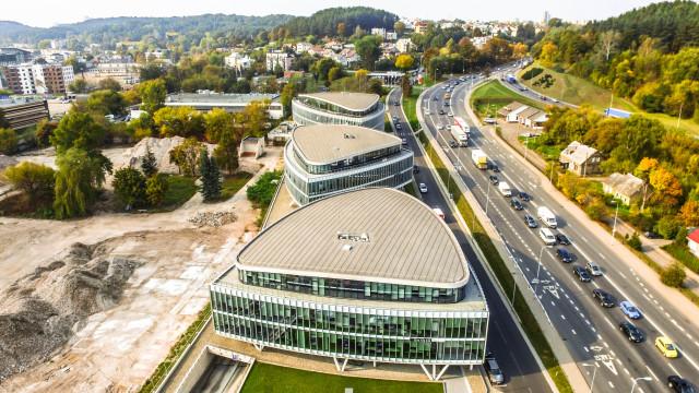 Vilnius business district