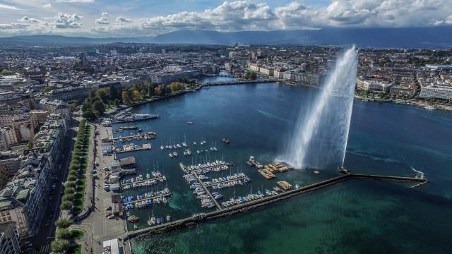 Jet d'eau de Genève, Switzerland