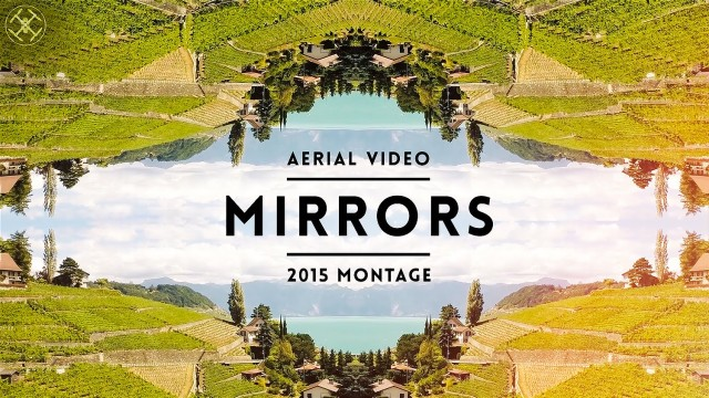 mirrors – an aerial journey #switzerland