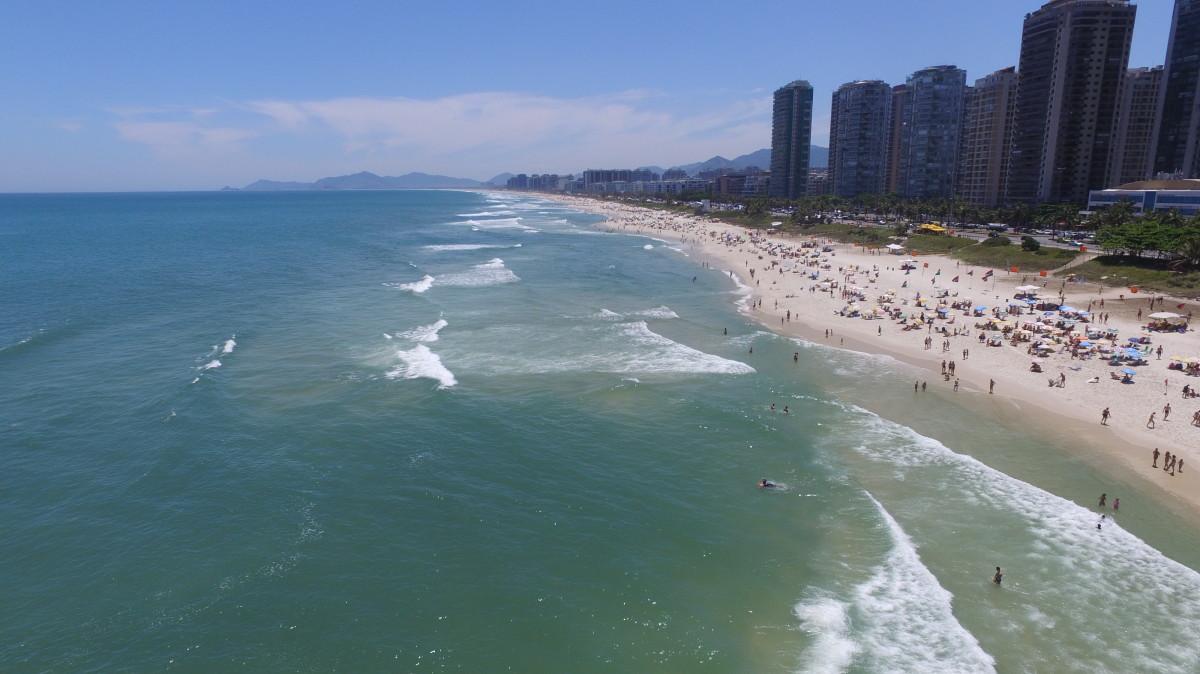 Praia da Barra da Tijuca, Rio de Janeiro, Brasil