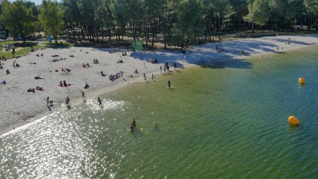Plage Bordeaux lac