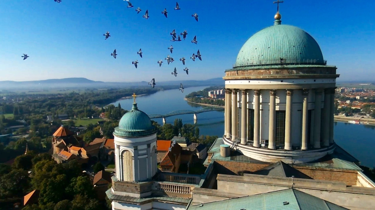 Esztergom Hungary  city photos : Esztergomi bazilika, Esztergom, Hungary | Dronestagram