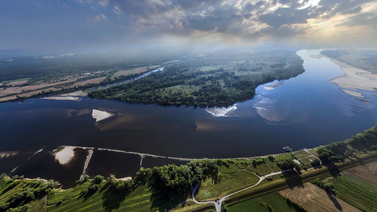 Vistula River Poland | Dronestagram