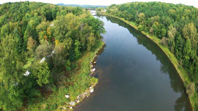 Lamoille River, Vermont.