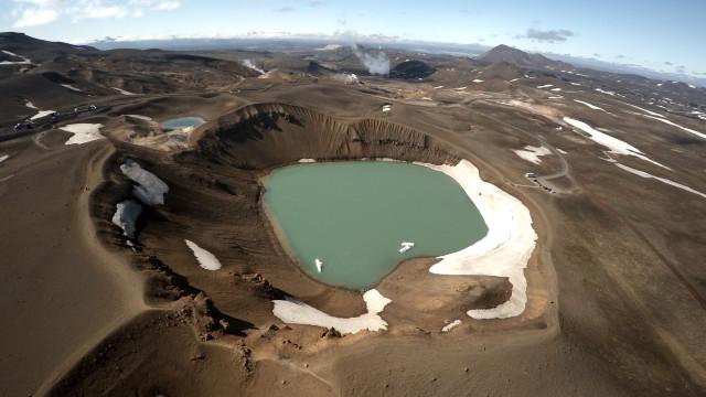Iceland, lake mivat'n