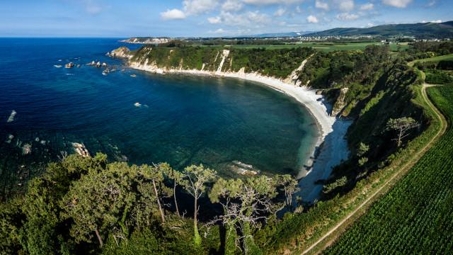 Playa de Castello, Asturias, Spain