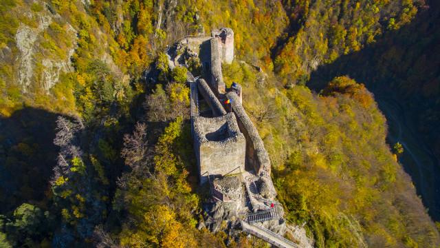 Cetatea Poienari, Transylvania, Romania