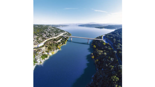 Lake of sainte croix, France