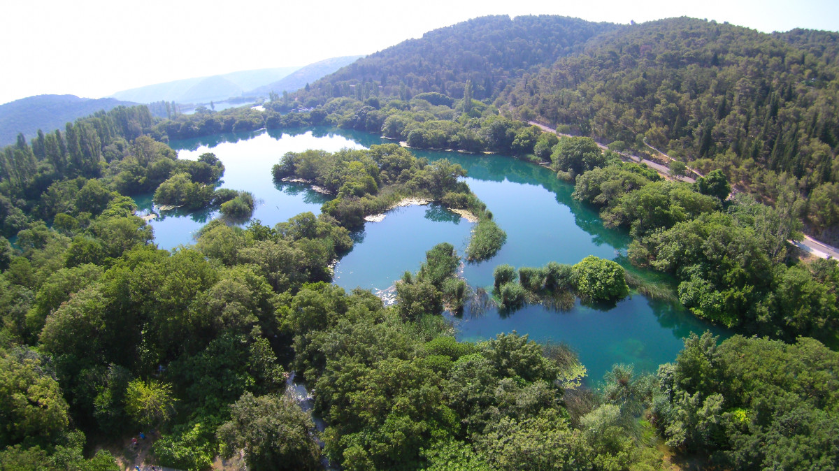 Krka National park, Šibenik, Croatia