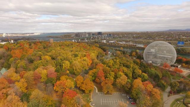 Biosphere, Isle St Helen, Montreal, Quebec, Canada