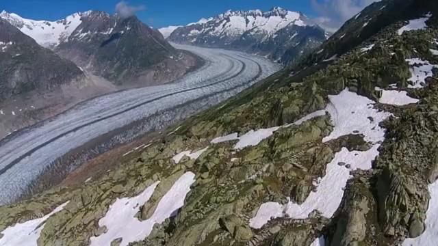Jungfrau / Aletsch glacier