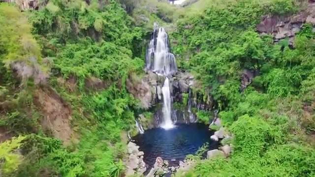 la reunion bassin et cascade de cormoran