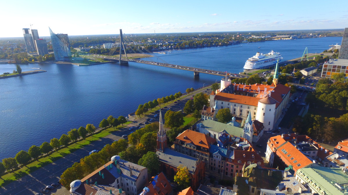 Old City, Riga, Latvia