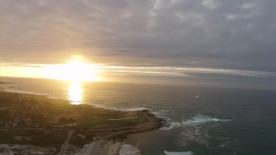 Spanish Bay Sunset, Monterrey CA