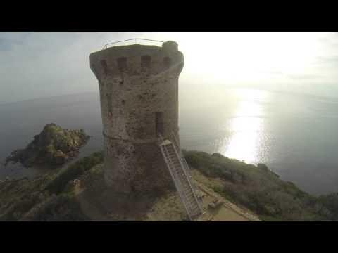 Plage de Fautea Sainte Lucie de Porto Vecchio , Corse du sud, france