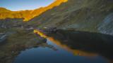 Lacul Balea, Transfagarasn Highway, Transylvania, Romania