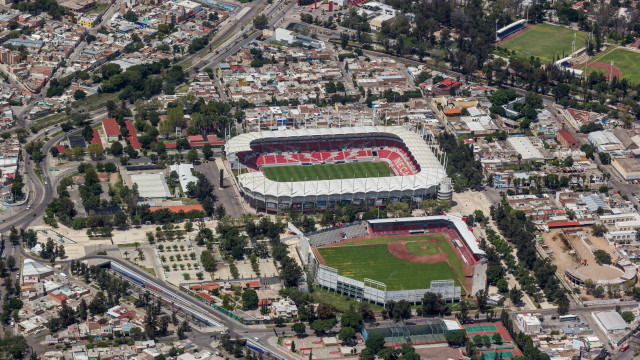 Estadio Victoria Aguascalientes y Romo Chavez