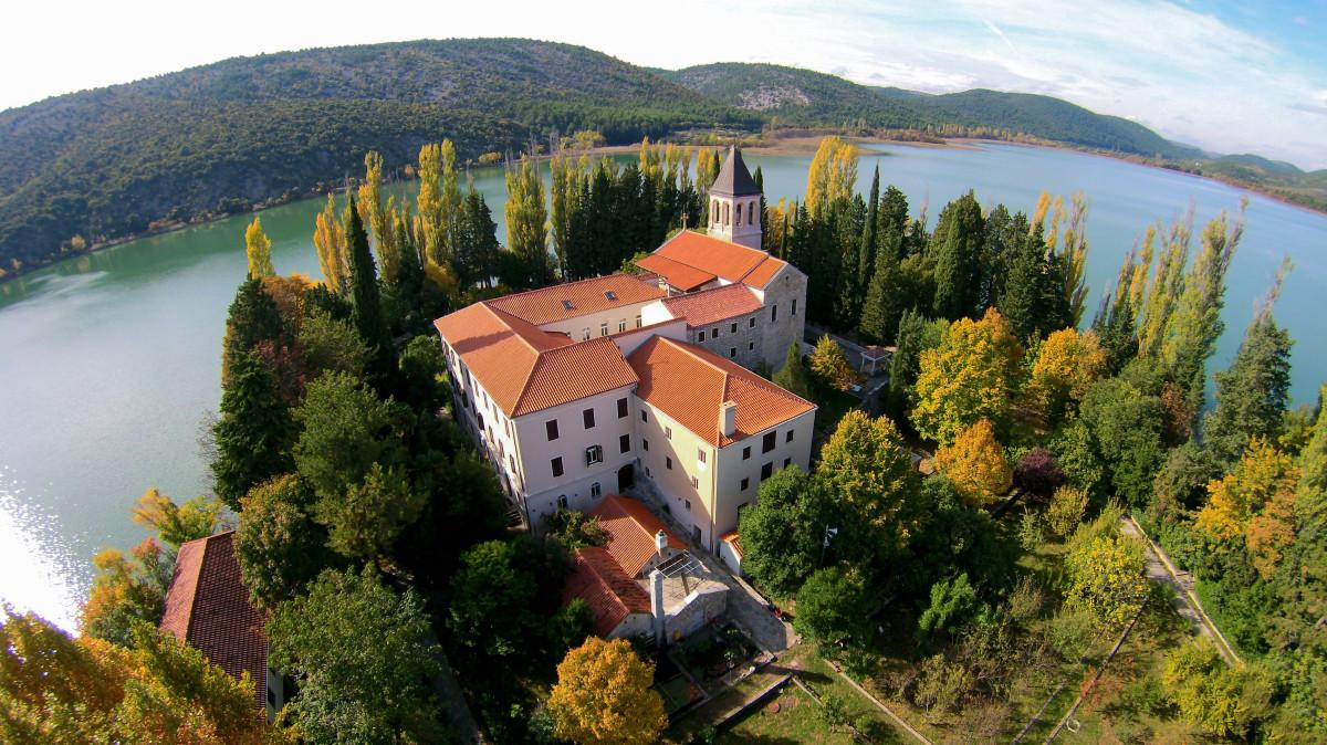 Visovac, National park Krka, Croatia